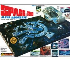 MPC 1999 SPACE MOON BASE ALPHA ENTIRE SEEN MODEL KIT 1/3200 SCALE 803