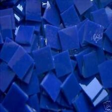 500 BLUE FUSIBLE MOSAIC TILE STAINED GLASS TILES ART CRAFT SUPPLIES MADE IN USA