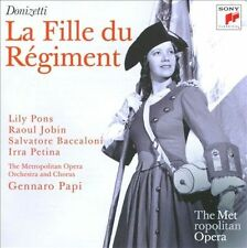 Donizetti: La Fille Du Regiment  CD NEW