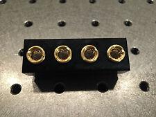 Fassung für 9mm Laserdioden 4-fach, für 445nm, 520nm etc., Laser Diode Mount