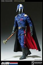 SIDESHOW G.I. JOE COBRA COMMANDER DICTATOR 1:6 SCALE FIGURE ~NEW~