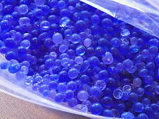 10 LBS  OF BLUE INDICATING SILICA GEL BAGGED BULK TEN POUNDS FREE SHIP SALE!!
