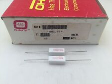 (25 pcs) TUW3J82R Ohmite, 3 Watt 82 Ohm 5%, Cement Filled, Ceramic Resistor
