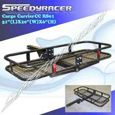 Truck Receiver Hitch Mounted Cargo Carrier Rack Trailer Luggage 51X20X6
