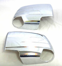 CHROME MIRROR SIDE DOOR LH+RH COVER FOR NEW ISUZU DMAX D-MAX 2012-2015 TRUCK V.2