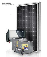 Photovoltaik Solaranlage  300 Wp Modul und 1200 Watt /230V Made in Germany