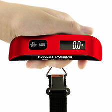 Travel Inspira 50kg/10g Portable LCD Digital Hanging Luggage Weight Scale New RD
