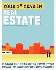"NEW ""Your 1st (First) Year In Real Estate"" by Dirk Zeller (Paperback Book)"