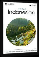 Eurotalk Talk Now Indonésien pour Débutants - Téléchargement option et CD ROM