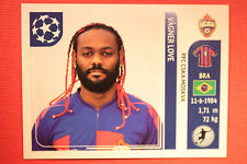 PANINI CHAMPIONS LEAGUE 2011/12 N 105 VAGNER LOVE CSKA WITH BLACK BACK MINT!!