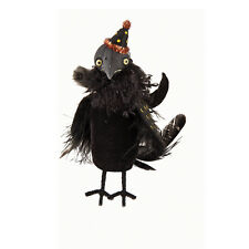FGS71632 Squeeze Crow Doll Marca Fantasy Art Halloween Decoration  Spooky