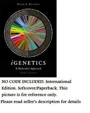 IGENETICS: A MOLECULAR APPROACH 3rd edition,  PETER J. RUSSELL, NO ACCESS CODE
