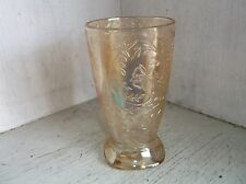 Jeannette Glass FLORAGOLD Louisa Tumbler 10 oz