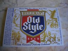 25 Heileman's Old Style Beer Labels LaCrosse, Wisconsin