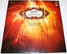HANDEL - Music For The Royal Fireworks [Vinyl LP] UK CFP 105 Classical *EXC*