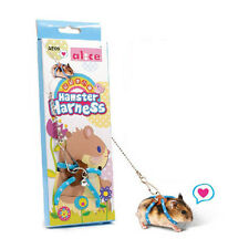 Pro Adventure Land Hamster Gerbil Pet Cage Playhouse Leashes Blue for Pet