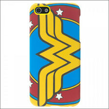 Wonder Woman DC Comics Hardshell Hard Rubber Case Cover iPhone 5 Licensed NEW