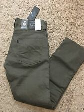 NWT Men's Levis 511 LINE 8 Slim Fit Brown Jeans 34X32 MSRP $70