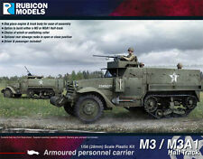 AMERICAN M3 / M3A1 HALFTRACK - RUBICON MODELS - 1/56 28mm- WW2 - US -BOLT ACTION