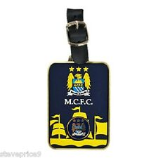 MANCHESTER CITY FC GOLF BAG TAG AND GOLF BALL MARKER