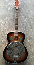 SAVANNAH RESONATOR ACOUSTIC GUITAR ROUND NECK-SUNBURST-EXCELLENT LIGHTLY USED