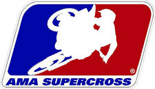 "#M161 6"" AMA supercross sponsor decal racebike race bike CBR GSXR CB LAMINATED!"