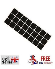 24 SELF ADHESIVE FELT TABS Furniture Chairs Protector New Pads Floor Square Home