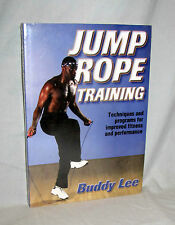 Health Fitness Book Jump Rope Training Buddy Lee Human Kinetics