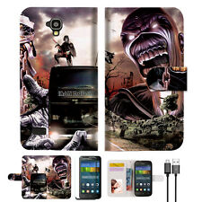 Iron Maiden Wallet Case Cover For HUAWEI Y5 Y560-- A014
