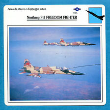 SCHEDA TECNICA AEREI - NORTHROP F-5 FREEDOM FIGHTER - (USA)