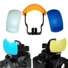 3 Color Pop Up Flash Diffuser for Nikon D7000 D3100 D5000 D3000 D3X D90
