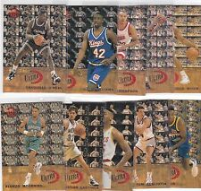 1992-93 FLEER ULTRA ALL ROOKIE SERIES 10 CARD INSERT SET SHAQUILLE O'NEAL +