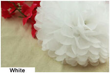 "14"" Tissue Paper Pom Poms Flower Ball Wedding Birthday Party Decoration Color 3"