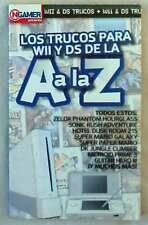 LOS MEJORES TRUCOS PARA LA WII Y DS DE LA A A LA Z - ED. GLOBUS 2007 VER INDICE