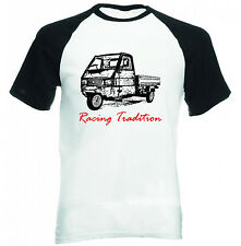 APE PIAGGIO 50 P RACING TRADITION - NEW COTTON TSHIRT - ALL SIZES IN STOCK
