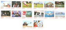 Jersey-Sport 2015 set from booklets-Different perf from sheet issue--mnh
