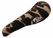 FLITE padded (neoprene) old school BMX seat cover - 70's CAMO CAMOUFLAGE