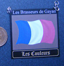 1:12 Scale The Les Couleurs Pub Sign Dolls House Miniature Bar - Tavern France