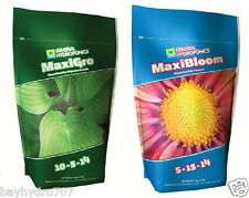 General Hydroponics MaxiGro & MaxiBloom COMBO 2.2lbs EACH GH Nutrient BAY HYDRO