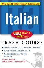 Schaum's Easy Outline of Italian (Schaum's Easy Outlines), Schmitt, Conrad J., G