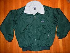 VINTAGE PATAGONIA CLASSIC FLEECE LINED JACKET COAT SEINFELD MEN'S SIZE XXL