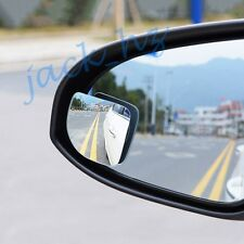Auto Clear Wide Angle Rearview Side Blind Spot Mirror Silver Style Accessories