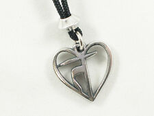 Satya: The Heart of Truth  Pewter Pendant, Know your own truth!