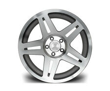 "17"" ST11 SILVER MACHINED ALLOYS VW GOLF MK4 SEAT LEON AUDI TT A3 98-03 5X100"