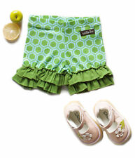 New Matilda Jane Size 12 Months Wonderful Parade Green Puzzle Shorties