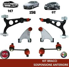 KIT ARMS SUSPENSION FRONT ALFA ROMEO 147 156 GT (6 PIECES)