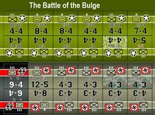 Avalon Hill's Battle of the Bulge ('65) Replacement Counters