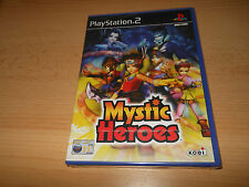 PLAYSTATION 2 PS2 PAL GAME MYSTIC HEROES SEALED NEW