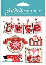 Jolee's VALENTINE WORDS Stickers LOVE