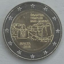 """2 euro Malta 2016 """"templo de Ggantija"""" unz."""